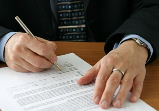 Образец заполнения договора подряда